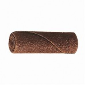 PFERD POLIROLL® 41743 Straight Untapered Coated Cartridge Roll, 1 in Dia, 1/4 in Arbor, 60 Grit, Aluminum Oxide Abrasive