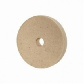 PFERD 48699 Round Felt Polishing Wheel, 6 in Dia, 3/4 in