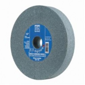 PFERD Universal Line PS-FORTE Flat Type 1 Bench and Pedestal Grinding Wheel, 7 in Dia x 1 in THK, 1 in, 120 Grit