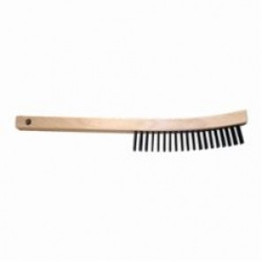 PFERD 85004 Scratch Brush, 6-1/4 in Brush, 13-3/4 in L x 5/8 in W Block, 1-3/16 in Stainless Steel Trim