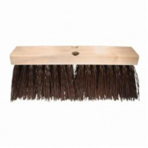 PFERD FS-16 Coarse Heavy Sweep Maintenance Floor Brush, 24 in Block, 3 in Plastic Trim 12/Box