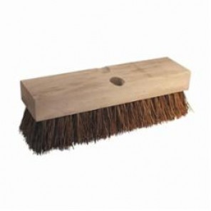 PFERD Vantage Brush 89514 Regular Fill Deck Brush, 10 in L x 2-3/4 in W Brush, 2 in Palmyra Trim 12/Box