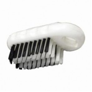 PFERD Vantage Brush 89532 Nail Cleaning Hand Scrub Brush, 5 in L x 1-1/2 in W Brush, 3/4 in Plastic Trim 12/Box