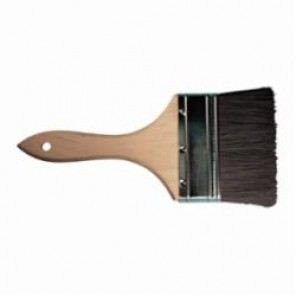 PFERD Vantage Brush 89702 Double Thick Economy Quality Chip Brush, 4 in W Bristle Brush, Wood Handle 12/Box