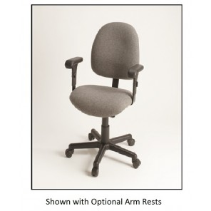 "GENUINE PHILLOCRAFT ERGONOMIC SEATING, Color/Material: Olefin - Foot Glides, Vertical Back Adjustment: 3"" range, Horizontal Back Adjustment: 3"" range, Height Adjustment: 16-1/2 - 21-1/2"", Tilt Adjustment Seat & Back: Fixed"