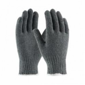 PIP® 35-C500 General Purpose Medium Weight Protective Gloves, Gray, Seamless, Cotton/Polyester Blend