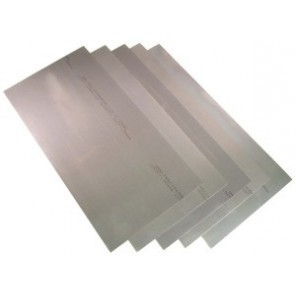 Precision Brand® 16968 Flat Sheet Shim Stock, 12 in L x 8 in W x 0.031 in Thk, 1008-1010 Full Hard Steel, 5/Pkg