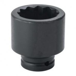 Proto® TorquePlus™ J07523T SAE Standard Length Impact Socket, 1-7/16 in Socket, 3/4 in Drive, 2-1/4 in OAL, Alloy Steel
