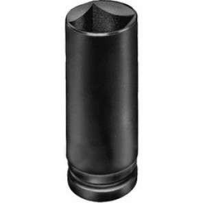 Proto® J07513SL SAE Deep Length Impact Socket, 13/16 in Socket, 3/4 in Drive, 3-1/16 in OAL, Alloy Steel