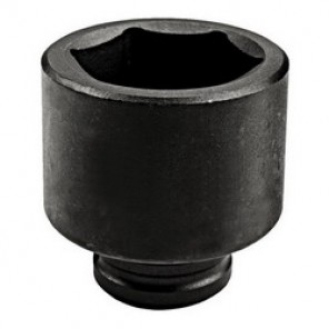 Proto® TorquePlus™ J07524M Metric Standard Length Impact Socket, 24 mm Socket, 3/4 in Drive, 2 in OAL, Alloy Steel