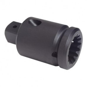 Proto® J09902 Impact Socket Adapter, 1 in Male, NO 5 Female, 4-3/8 in OAL