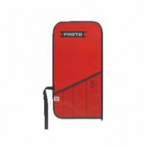Proto® J25TR18C Tool Roll, 4 Pockets, For Use With J1270B Flex Head Wrench Set, Canvas/Vinyl, Red