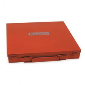 Proto® J4019 Storage Box, 11-9/16 in L x 11-1/8 in W x 1-5/8 in D, For Use With Proto-Ease™ 10 ton 3-Way Jaw Pullers