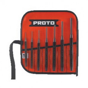 Proto® J47A Pin Punch Set, 7 Pieces, S2 Steel