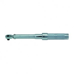 Proto® J6006C Micrometer Torque Wrench, 3/8 in Drive, Ratchet Head, 16 - 80 ft-lb, 0.5 ft-lb, 15-1/2 in OAL