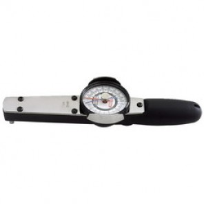 Proto® J6169NMF Dial Torque Wrench, 1/4 in Drive, Fixed Head, 250 in-lb, 1 in-lb, 10 in OAL