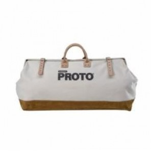 Proto® J95322 Tool Bag, 27 in L x 17 in D, Polyester/Leather