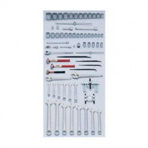 Proto® J98300 Heavy Equipment Master Tool Set, 71 Pieces, For Use With 1 - 3-1/2 in Fasteners, 3/4 in, 1 in Drive