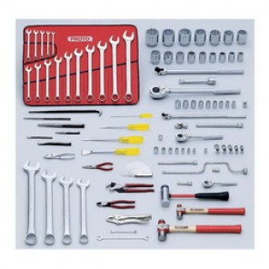 Proto® J98310 Heavy Equipment SAE Master Tool Set, 92 Pieces, For Use With 5/16 - 2-1/4 in Fasteners