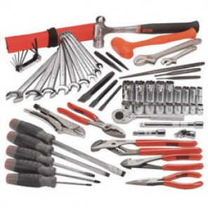 Proto® J99210 Metric Starter Master Tool Set, 67 Pieces, For Use With 7 - 19 mm Fasteners, 3/8 in Drive