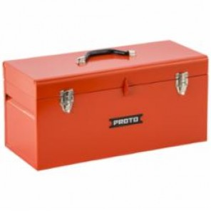 Proto® J9975-NA General Purpose Portable Tool Box With Removable Steel Tote Tray, 9-1/2 in H x 20 in W x 8-1/2 in D