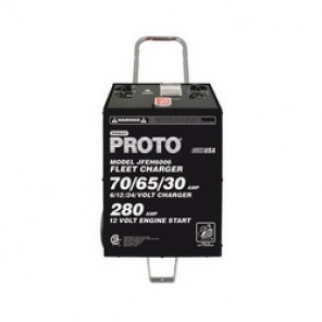Proto® JFEH6006 Fleet Charger, Automatic Charge, 30 in H x 16 in W x 17 in D, 6/12/24 V