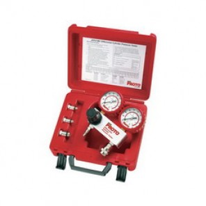 Proto® JFP210M Differential Cylinder Pressure Tester Kit, 4 Pieces, Plastic