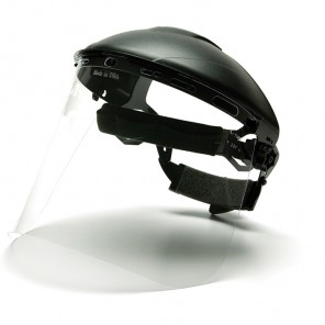 Pyramex S1010 Polyethylene Face Shield Clear
