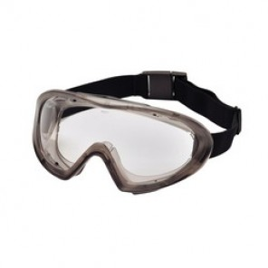 Pyramex® Capstone® 500 Direct Dual Lens Indirect Protective Goggles, Universal, Anti-Fog, Scratch-Resistant Clear Lens