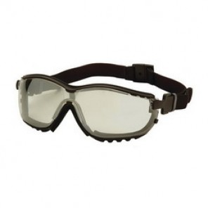 Pyramex® GB1880ST Protective Goggles, Universal, Framed Black Frame, Anti-Fog, Scratch-Resistant