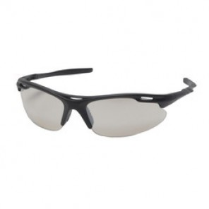Pyramex® SB4580D Light Weight, Sporty Style Protective Glasses, Universal, Framed Black Frame, Scratch-Resistant