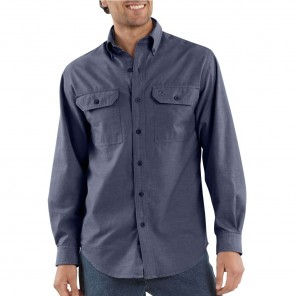 Men's Carhartt Fort Solid Long-Sleeve Shirt