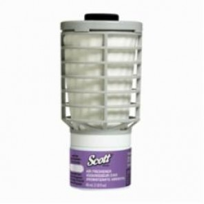 Scott® 12370 Continuous Air Freshener Refill, 4.4 in H x 2.3 in W x 2.3 in D, Summer Fresh Scent, Clear