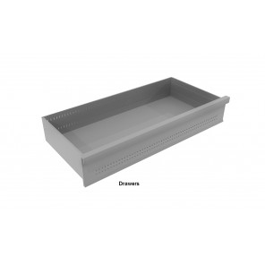 """R3000® BOLTLESS SHELVING - ACCESSORIES, Size D x H: 20 D. x 39 W. x 4 H."""", Load Cap. (lbs.): 150, Drawer"""