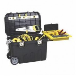 Stanley® 029025R Mobile Tool Chest, 19.13 in H x 18.62 in W x 29.88 in D, Polypropylene