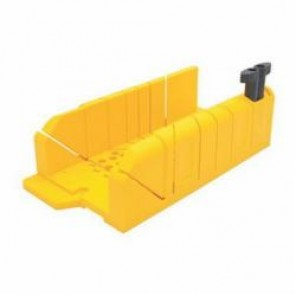 Stanley® 20-112 Clamping Mitre Box, 12 x 4-1/4 in OAL, For Use With 14 in Miter Saws, High Impact Polypropylene