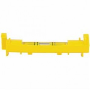 Stanley® 42-193 Flat Base Lightweight Line Level, 3 in L x 4-1/2 in W x 3-1/2 in H, 1 Vials, (1) Level Vial Positions