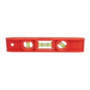 Stanley® 42-294 Torpedo Level, 8 in L, 3 Vials, (1) Plumb, (1) Level, (1) 45 deg Vial Positions, ABS Plastic