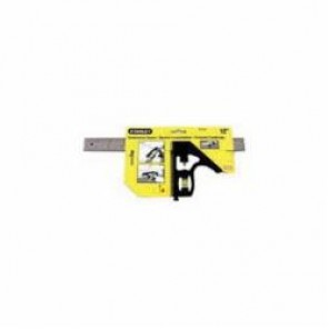 Stanley® 46-222 Combination Square, 12 in, 1/8 in, 1/16 in and 1/32 in, 45 deg, 90 deg, Die Cast Metal