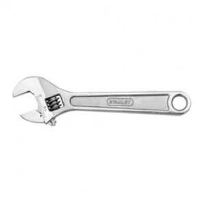 Stanley® 87-473 Metric/SAE Adjustable Wrench, 1-3/8 in Wrench