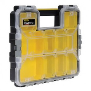 Stanley® FatMax® FMST14920 Shallow Professional Organizer, 2.9 in H x 14 in W x 17-1/2 in D