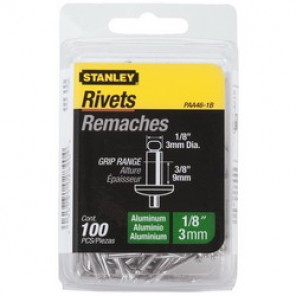 Stanley® PAA46-1B Blind Rivet, 1/8 in Hole, Aluminum