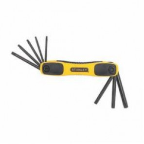 Stanley® STHT71802 Folding Star Hex Key Set, 8 Pieces