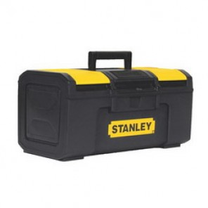 Stanley® STST16410 Basic Portable Tool Box With Removable Tray, 6-1/3 in H x 8-3/5 in W x 15-2/5 in D