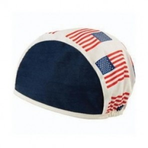 Steiner® KK911 Beanie Cap, Universal, American Flag Center Panel/Red/Blue Side Panel, 100% Cotton
