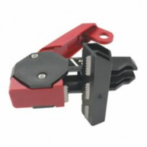 STOPOUT® KDD162 Clamp-On Triple-Pole Circuit Breaker Lockout, For Use With Triple-Pole Circuit Breakers, 120/240 V