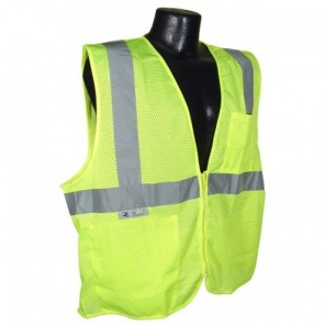 Radians® SV2Z Economy Type R Class 2 Safety Vest with Zipper
