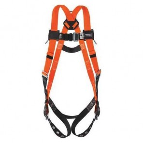Miller™ T4500/UAK, Titan II Non-Stretch Full Body Harness w/ Tongue Buckle Legs, Belt Loop, L/XL