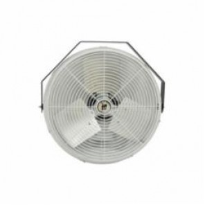 TPI U24CR Standard Workstation Fan, 24 in Blade, 2100 cfm High, 1900 cfm Medium, 1600 cfm Low, 120 VAC, 2.4 A
