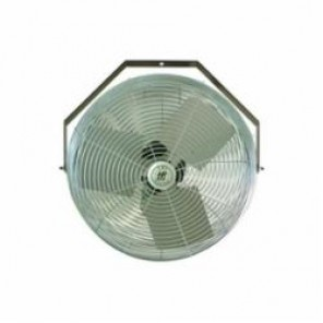 TPI U24TE Standard Workstation Fan, 24 in Blade, 2100 cfm High, 1900 cfm Medium, 1600 cfm Low, 120 VAC, 2.4 A
